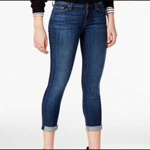 7 For Mankind Skinny Crop & Roll Size 29 EUC